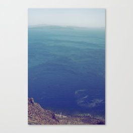 Sea green, ocean blue Canvas Print