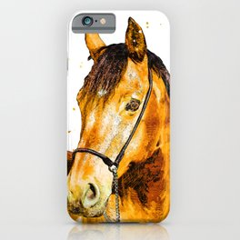 One Copper Stallion  iPhone Case