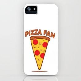 Pizza fan iPhone Case
