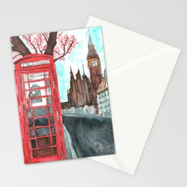 Londoner at Heart Stationery Cards