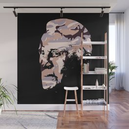 Celebrity in disguise wall art print Wall Mural