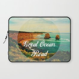 Take Me Back to that Great Ocean Road Laptop Sleeve