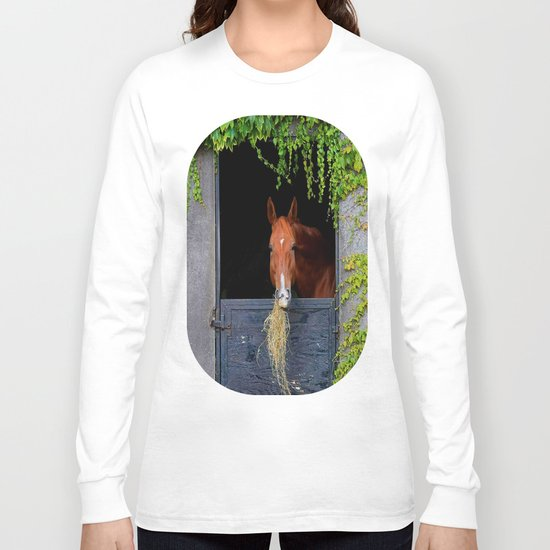 Home is where the Horse is Long Sleeve T-shirt