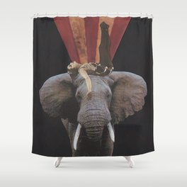 Strength #8 Shower Curtain