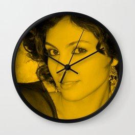 Morena Baccarin Wall Clock