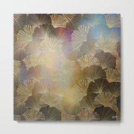 Fanning Frond Pattern I Metal Print