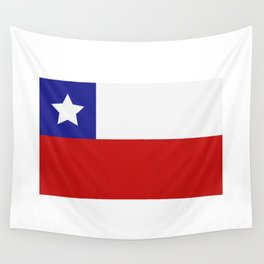 Chile flag Wall Tapestry
