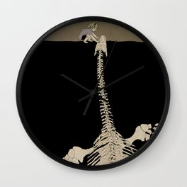 Digging for Fossils  Wall Clock