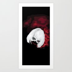 SMOKE BLOOD INK Art Print