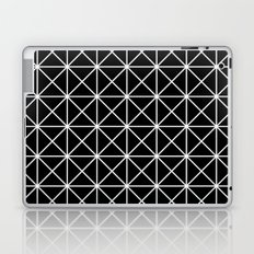 Triangle outline reverse Laptop & iPad Skin