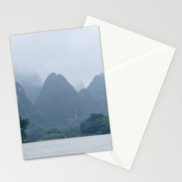 Misty Mountains of Guilin China Stationery Cards