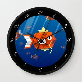 Magikarp Wall Clock