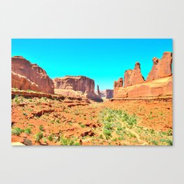 It's 100 degrees too hot and I'm dying Canvas Print
