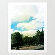 Trees and Chaos Art Print