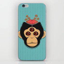 3rd Eye Chimp & Psychedelic Mushrooms iPhone Skin