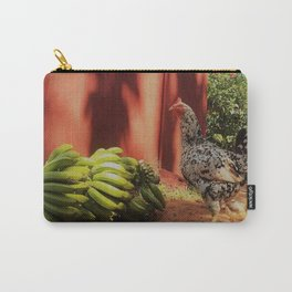 Chicken and Bananas Carry-All Pouch