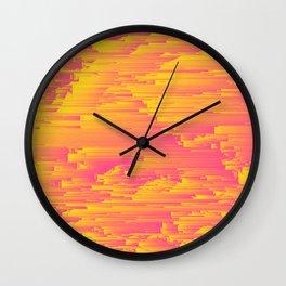 Miami Speed - Pixel Art Wall Clock