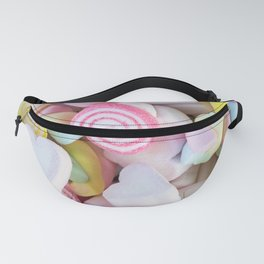 Pastel Rainbow Candy Fanny Pack