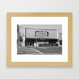 Boudreaux's Louisiana Kitchen B&W Framed Art Print
