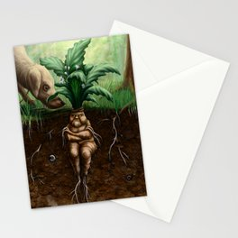 Painted Mandrake Stationery Cards