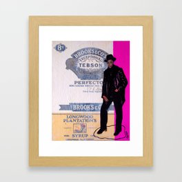 Perfecto Framed Art Print