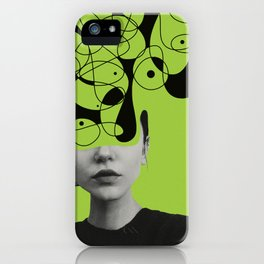 Abstraction - version 1. iPhone Case