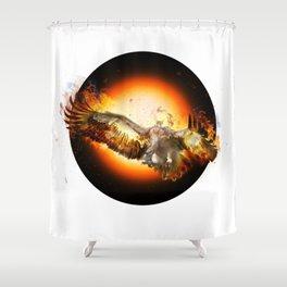 fire bird SE Shower Curtain