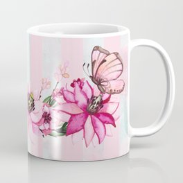 Pretty Pink Flutterbies Coffee Mug