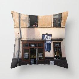 Užupis Throw Pillow