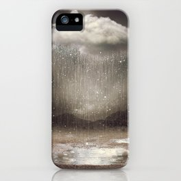 It's Okay. Even the Sky Cries Sometimes. iPhone Case