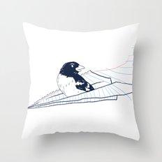 Flying Away Throw Pillow