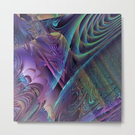 Daily Design 38 - Systems Colliding Metal Print