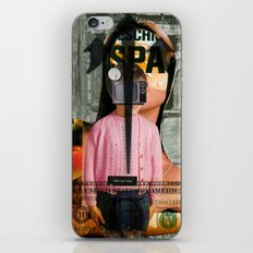 Check Your Head V1 (collaboration with the talented Marko Köppe) iPhone & iPod Skin