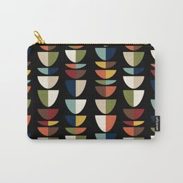 Retro Abstract, Vintage Mid Century Modern Carry-All Pouch