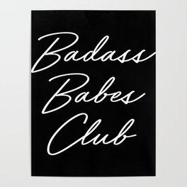Badass Babes Club 1 Poster