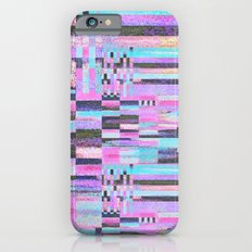 Pink lines of chalk iPhone 6s Slim Case