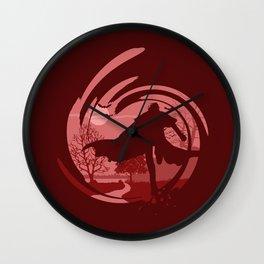 The Lord Vampire Wall Clock