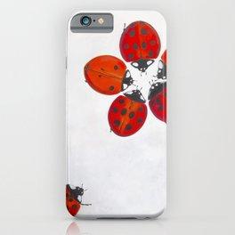 Ladybug meeting iPhone Case