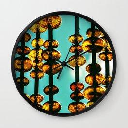 Amber Love Wall Clock