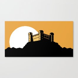 The  Ancient  Castle  of  Dusk  Heights Canvas Print