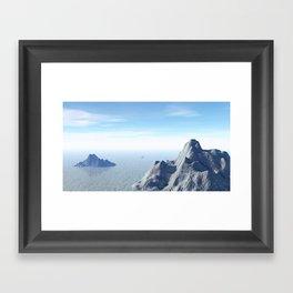 Frozen Trek Framed Art Print