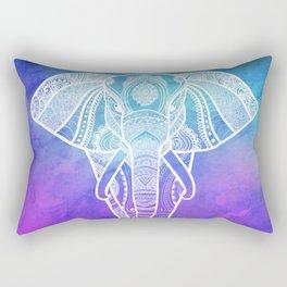 Indian Elephant #2 Rectangular Pillow