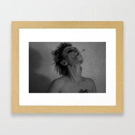 steady as she goes Framed Art Print