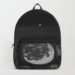 Dreams by Lu, black-and-white Backpack