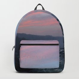 great falls sunset Backpack