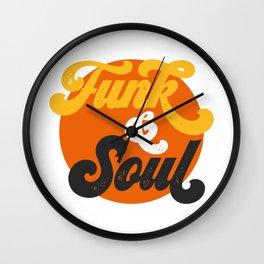 Funk & Soul Wall Clock