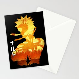 Minimalist Silhouette Hero Stationery Cards