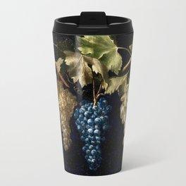 Grape Vines : Vintage Painting Travel Mug