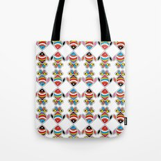 color fish Tote Bag