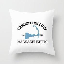 Cahoon Hollow, Cape Cod Throw Pillow